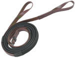 Zilco 16mm Rubber Grip Reins w Loop End Racing