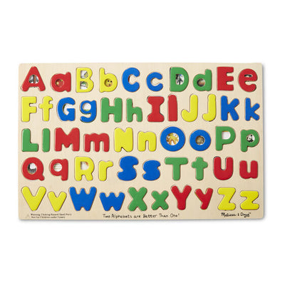 Upper & Lower Case Alphabet Puzzle - Posh Tots Children's Boutique