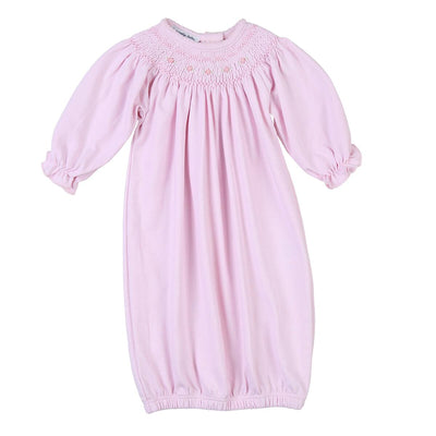 Mandy and Mason's Classics Bishop Gown - Pink - Posh Tots Children's Boutique