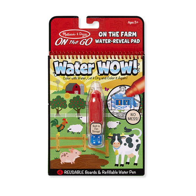 Water Wow! On the Farm- On the Go Travel Activity - Posh Tots Children's Boutique