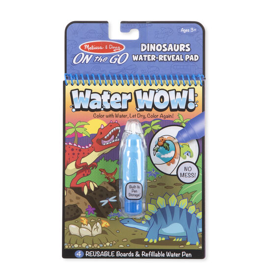 Water Wow! Dinosaurs- On the Go Travel Activity - Posh Tots Children's Boutique