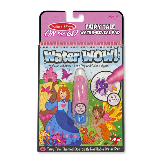 Water Wow! Fairy Tale- On the Go Travel Activity - Posh Tots Children's Boutique