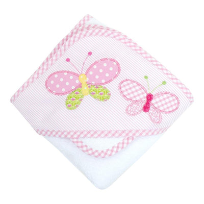 Box Hooded Towel Set - Butterfly Kisses - Posh Tots Children's Boutique