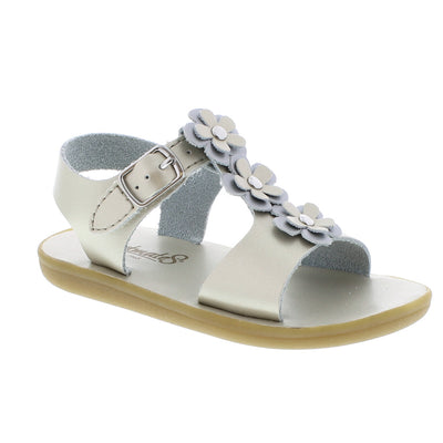 Jasmine Sandal, Soft Gold - Posh Tots Children's Boutique