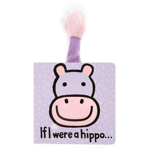 f I Were a Hippo Book - Posh Tots Children's Boutique