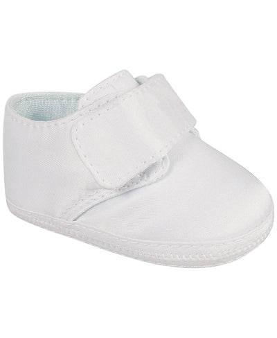 Baby Boy Satin Booties - Posh Tots Children's Boutique