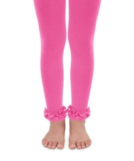 Ruffle Footless Tights - SALE - Posh Tots Children's Boutique