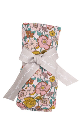 Bamboo Swaddle - Flower Child - Posh Tots Children's Boutique