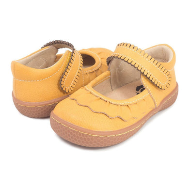 RUCHE Mary Jane - Butterscotch - Posh Tots Children's Boutique