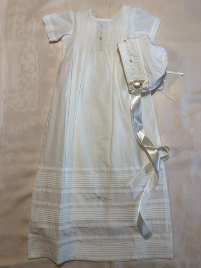 Kris Boy Christening Gown - Posh Tots Children's Boutique