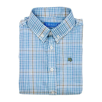 Roscoe Button Down Shirt - Epworth Plaid - Posh Tots Children's Boutique