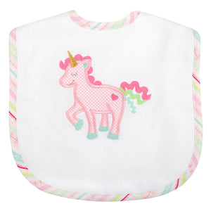 UNICORN Toddler Bib - Posh Tots Children's Boutique