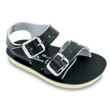 Load image into Gallery viewer, Sun San Sea Wee Sandal - Black & Brown - Posh Tots Children's Boutique
