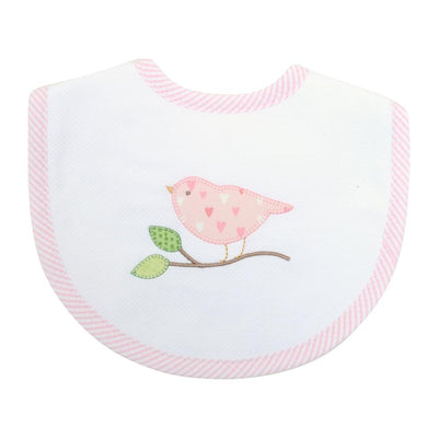 Basic Bib - Bird - Posh Tots Children's Boutique