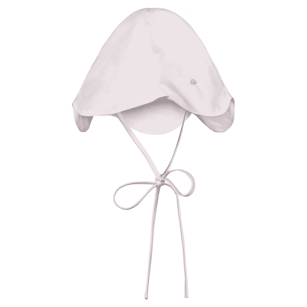 Rosebud Scalloped Sun hat - Posh Tots Children's Boutique