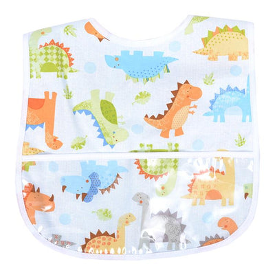 Laminated Bib - Dinosaur - Posh Tots Children's Boutique
