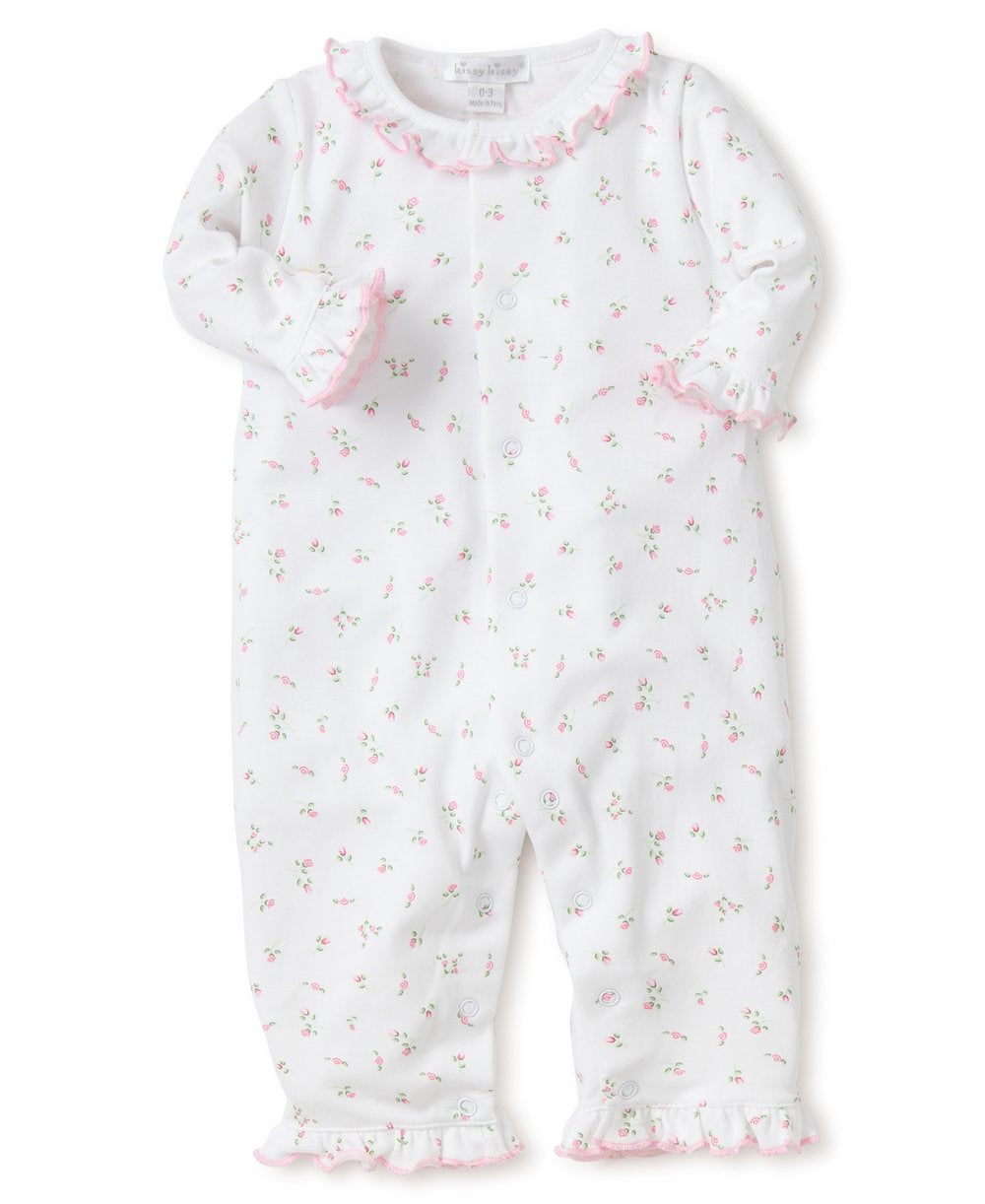 Garden Roses Playsuit - Posh Tots Children's Boutique