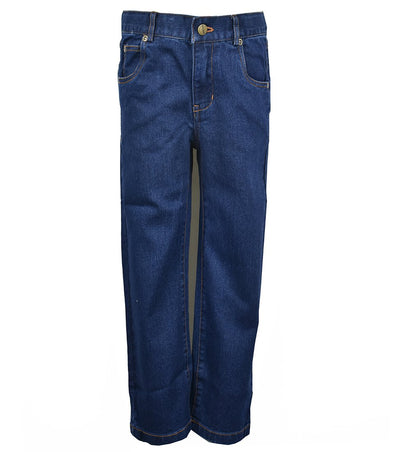 Toddler Jeans, Indigo - Posh Tots Children's Boutique