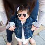Load image into Gallery viewer, Keyhole & Sweetheart Sunglasses - Posh Tots Children's Boutique
