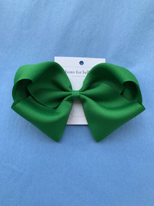 X-Large Grosgrain Hair Bow - Posh Tots Children's Boutique