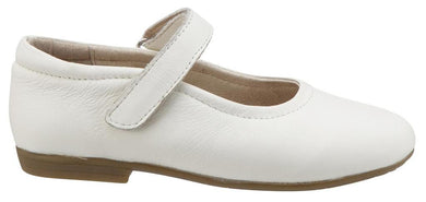 Brule Sista Leather Mary Janes, Snow - Posh Tots Children's Boutique