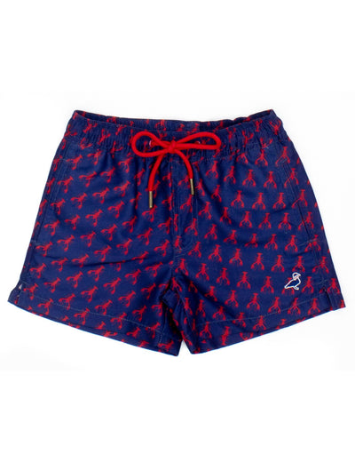 Crawfish Swim Trunks - Posh Tots Children's Boutique