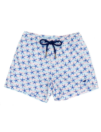 Starfish Swim Trunks - Posh Tots Children's Boutique