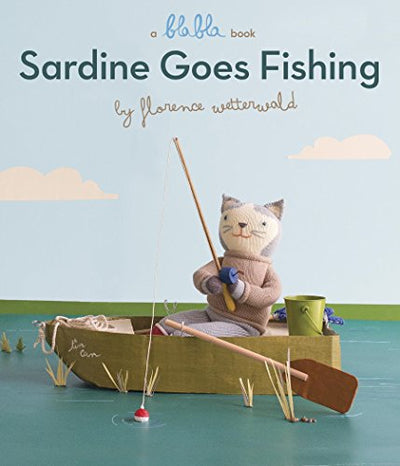Sardine Goes Fishing Book - Posh Tots Children's Boutique