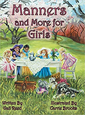 Manners and More for Girls by Gail Reed - Posh Tots Children's Boutique