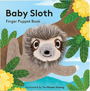 Baby Sloth Finger Puppet Book - Posh Tots Children's Boutique