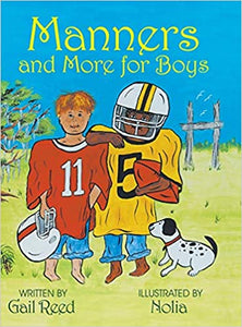 Manners and More for Boys by Gail Reed - Posh Tots Children's Boutique