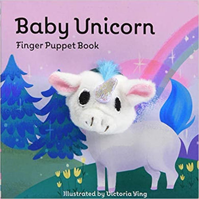 Baby Unicorn Finger Puppet Book - Posh Tots Children's Boutique