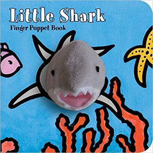 Little Shark Finger Puppet Book - Posh Tots Children's Boutique