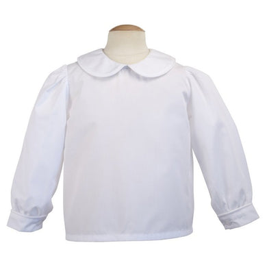 Basic Long Sleeve Blouse - Posh Tots Children's Boutique