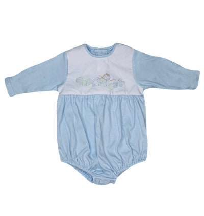 Rocking Horse L/S Knit Bubble - Posh Tots Children's Boutique