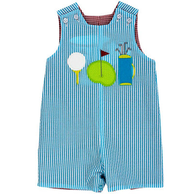 PRE ORDER Golf Trio Reversible Jon Jon - Posh Tots Children's Boutique