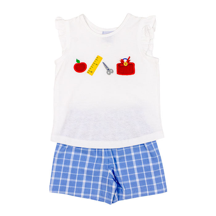 Back to School Short Set, Girls