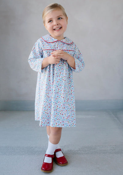 Dunn Dress in Callaway Floral - Posh Tots Children's Boutique