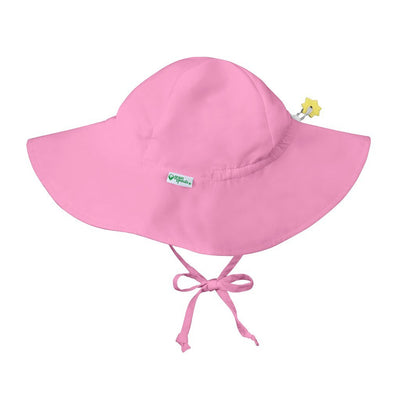 *Brim Sun Hat - Light Pink - Posh Tots Children's Boutique