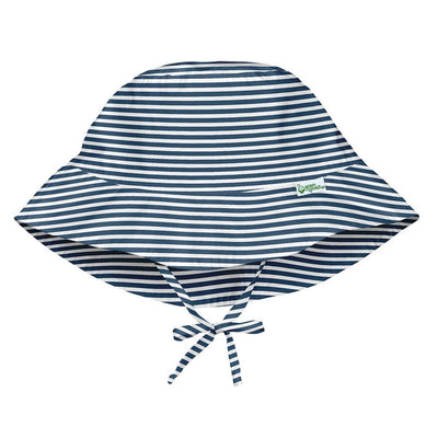 *Bucket Sun Hat, Navy Pinstripe - Posh Tots Children's Boutique