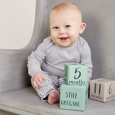 Milestone Block Set, Boy - Posh Tots Children's Boutique