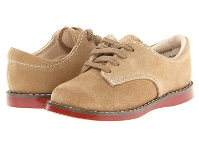 Suede Oxford Buck - Posh Tots Children's Boutique