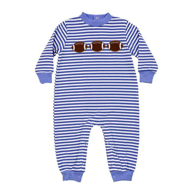Football Trio Romper - Posh Tots Children's Boutique