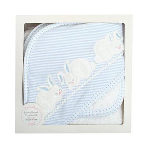 BUNNY Boxed Hooded Towel Set - Posh Tots Children's Boutique