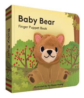 Baby Bear Finger Puppet Book - Posh Tots Children's Boutique