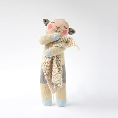 "18"" Wooly the Sheep - Posh Tots Children's Boutique"