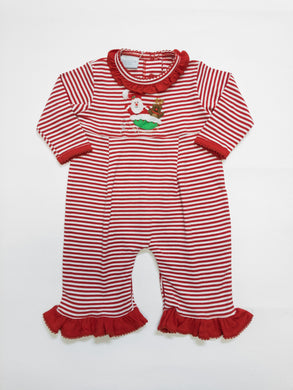 Flying Santa Coverall - Posh Tots Children's Boutique