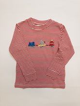 Load image into Gallery viewer, Animal Train Crew Neck Shirt - Posh Tots Children's Boutique
