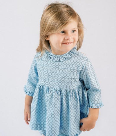 Ruffle Pleat Bloomer Set - Posh Tots Children's Boutique