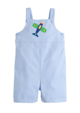 Airplane Embroidered Shortall